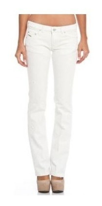 Pantalon Jean Mujer Diesel Doozy Blanco