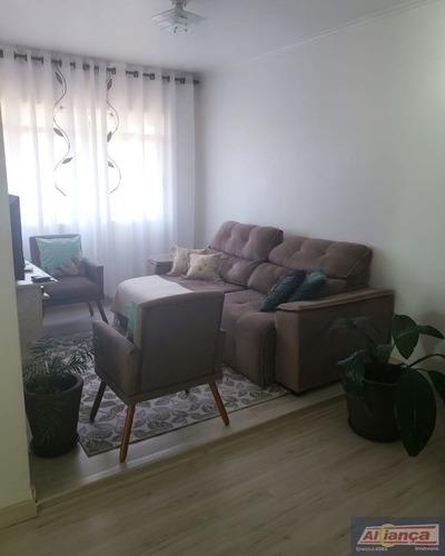 Lindo !! Apartamento Á Venda De 68m², Por 265.000  Com 02 Dormitórios 01 Vaga De Garagem. - Ai21246