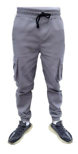 Imagen 1 de 2 de Pantalón Jogger Cargo Para Hombre Varios Colores