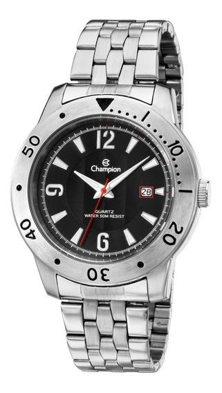Relógio Masculino Analogico Champion Prata Ca30169t