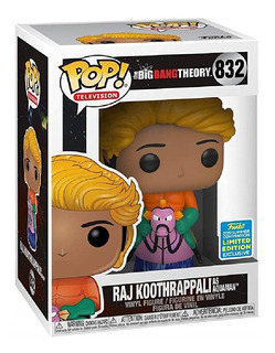 Funko Pop The Big Bang Theory 832 Raj Koothrappali As Aquama