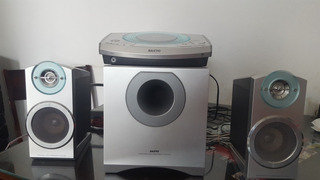 Home Theater Sanyo Dvd System. Funciona Perfecto!!!!