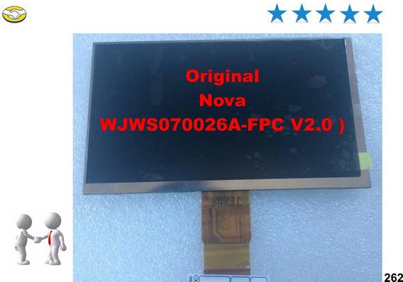 Display Lcd Original Dl Wjws070026a-fpc V2.0 ) P/ Tablets