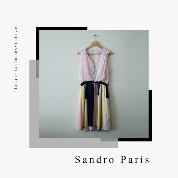 Vestido De Verano Importado. Sandro Paris