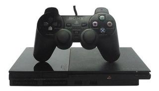 Console Playstation 2 Slim Preto Sony Japonês Pronta Entrega