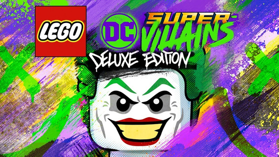 Lego Dc Super-villains Deluxe Edition Pc Steam Key