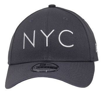 Bone New Era Aba Curva Nyc Cinza