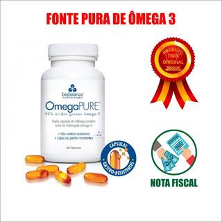 Omegapure Omega 3 - 500mg 60caps - Biobalance