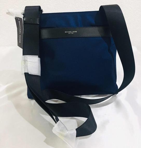 Michael Kors Crossbody Original Color Azul Marino