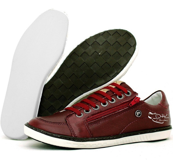 Sapatênis Masc. Combina C/ Jeans Bermuda Calça Sarja Camisa