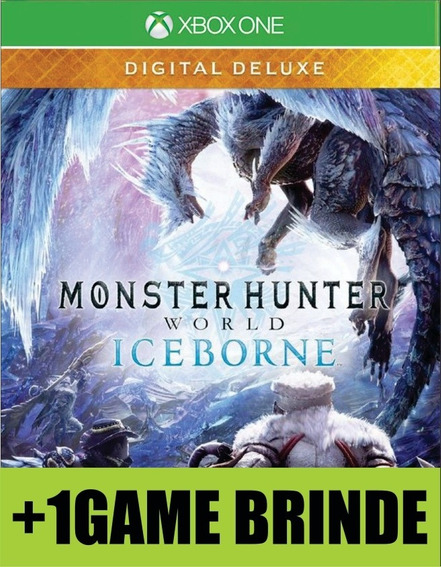 Monster Hunter World Iceborne Deluxe Xbox One Mídia