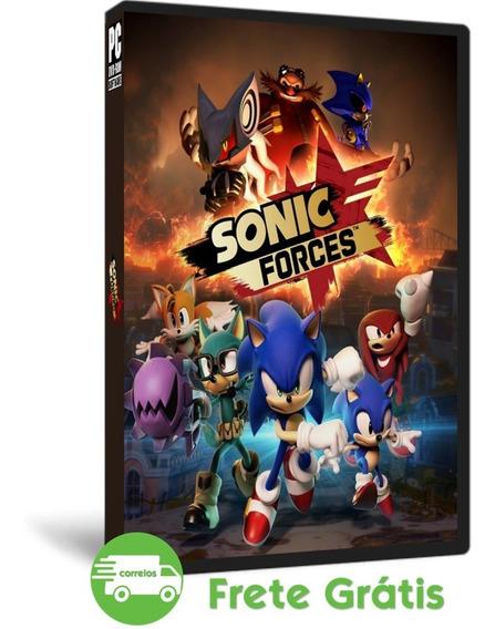 Sonic Forces Pc Mídia Física Atualizado + 6 Dlc