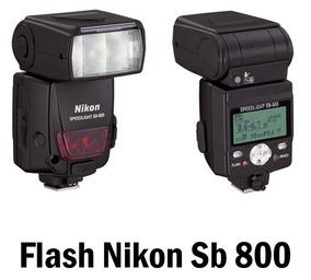 Flash Nikon Sb-800 - Baixou O Preço R$ 659,90 À Vista