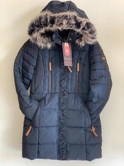 Chamarra Dama Larga Greenlander Máxima Calidad Para Frío