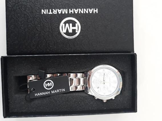 Relógio Feminino A Prova D´agua Hannah Martin Frete Grátis