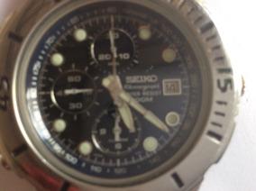 Lindão Relógio Seiko 1ª Linha, Quartz, Cronógrafo, Alarme