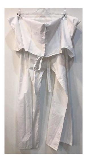 Calça Branca Pantalona Farm Tam Unico