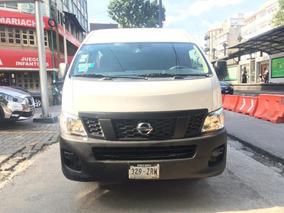 Nissan Urvan 2015 Panel 4ventanas Amplia, Excelentes Precio!