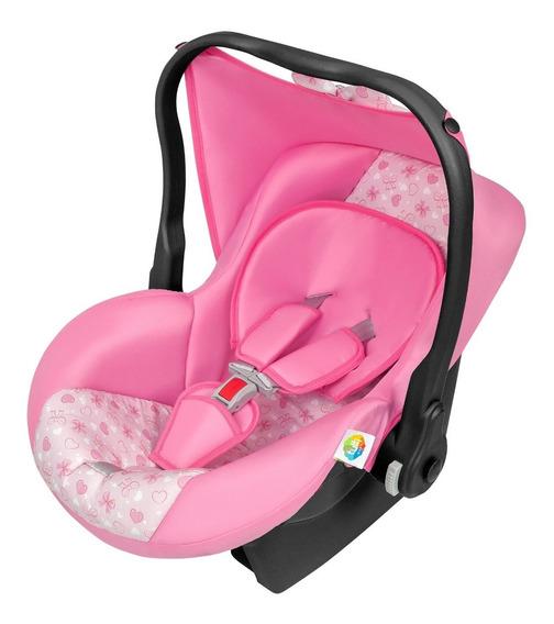 Bebe Conforto Menina Para Carro Automóvel Tutti Baby Rosa