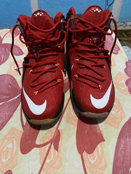 Tênis Nike Lebron 12 Red