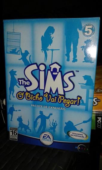 The Sims Expanção O Bicho Vai Pegar Original Lacrado