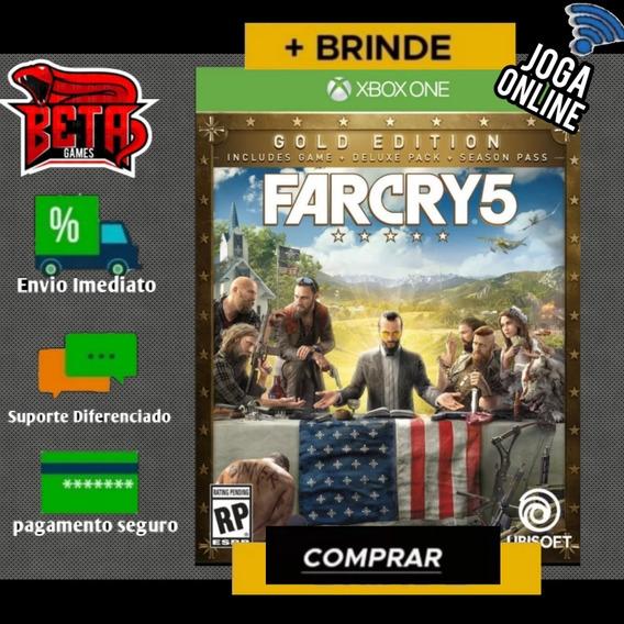 Farcry 5 - Xbox One - Midia Digital + Brinde