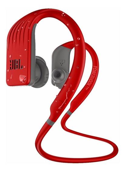Fone Ouvido Jbl Endurance Jump Vermelho Bluetooth Microfone