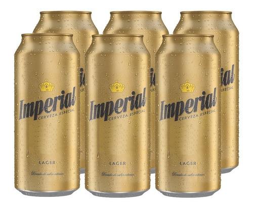 Imagen 1 de 10 de Imperial Lager . Cerveza . 473ml X 6 - Tomate Algo® -
