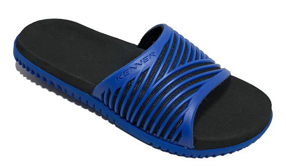 Sandália Kenner Slide Sport Hdv Masculina Azul - Original