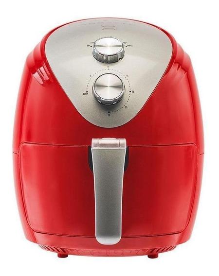 Fritadeira sem óleo Agratto Silver vermelha 220V