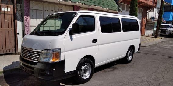 Camioneta Nissan Urvan Pasajeros 100% Gasolina