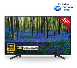 Televisor Sony Ultra Hd 4k Hdr Smart Tv De 49