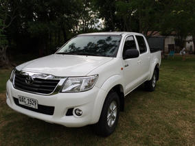Toyota Hilux Srv Nafta 2.7 2014
