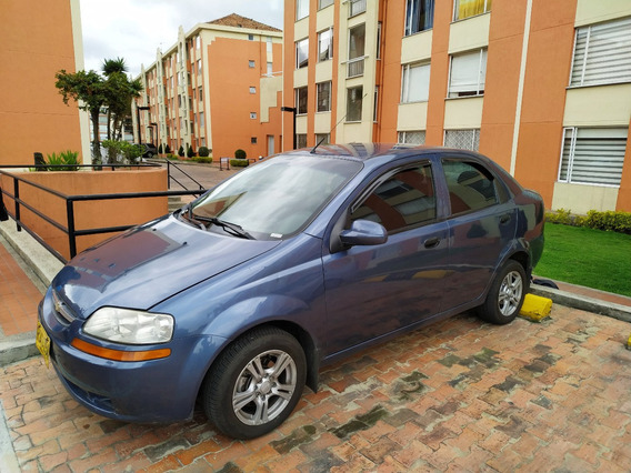 Chevrolet Aveo Motor 1.5 2010 Azul 5 Puertas
