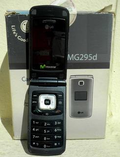 Celular LG Mg295d P/ Reparar O Repuestos Batería Y Cargador