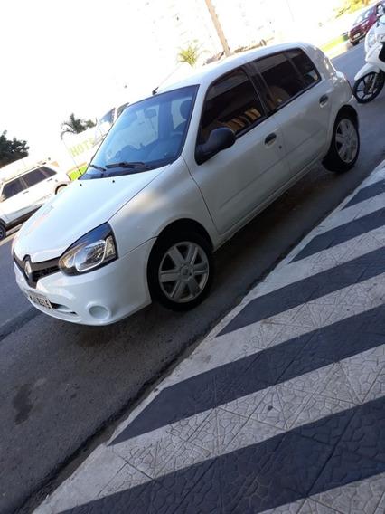 Renault Clio Expression 1.0 16v Hi-flex 2013/14 Completo