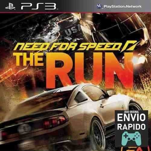Need For Speed The Run - Jogos Ps3 Original