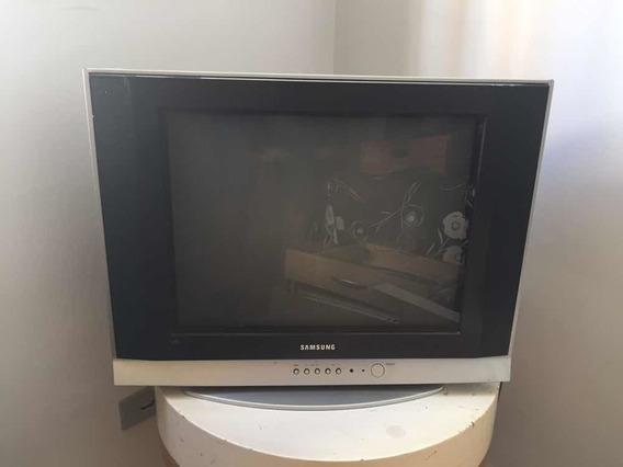 Tv 21 Tubo Tela Plana Samsung