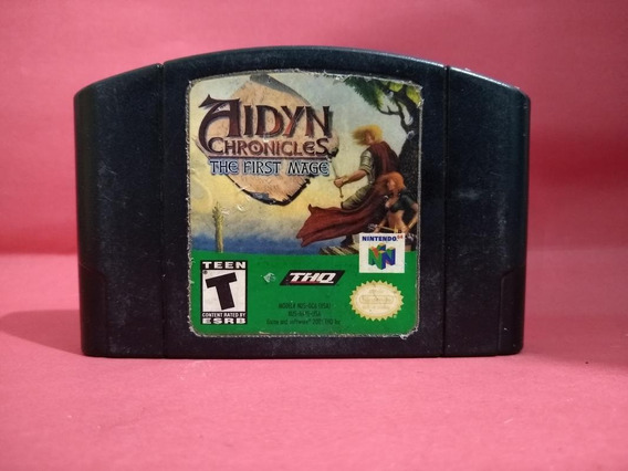 Jogo Aidyn Chronicles: Thief First Mage N64