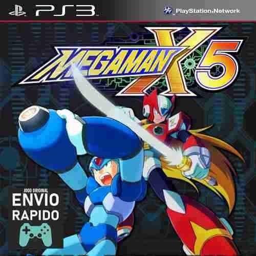 Megaman X5 Mega Man X5 - Jogos Ps3 Original