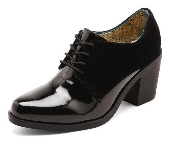 Zapato Negro Tellenzi Oxford