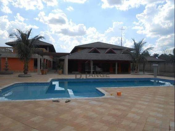 Chácara Com 3 Dormitórios À Venda, 4900 M² Por R$ 2.000.000,00 - Loteamento Chácaras Vale Das Garças - Campinas/sp - Ch0405