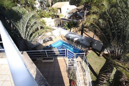 Casa Com 5 Dormitórios, 700 M² - Venda Por R$ 4.200.000,00 Ou Aluguel Por R$ 17.500,00/mês - Tamboré - Santana De Parnaíba/sp - Ca3422