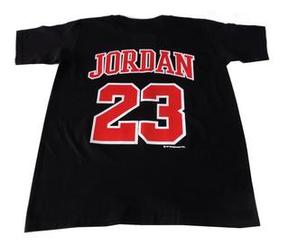 Michael Jordan Playera Negra Chicago Bulls Env Gt Nba1 Ace70