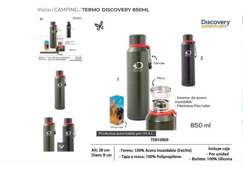 Termo Discovery 850ml
