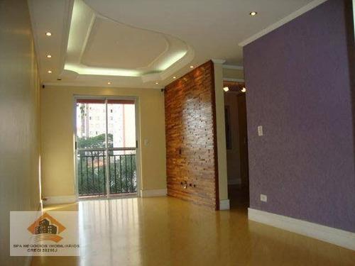 Imagem 1 de 12 de Apartamento Com 2 Dormitórios À Venda, 62 M² Por R$ 375.000,00 - Vila Esperança - São Paulo/sp - Ap0300