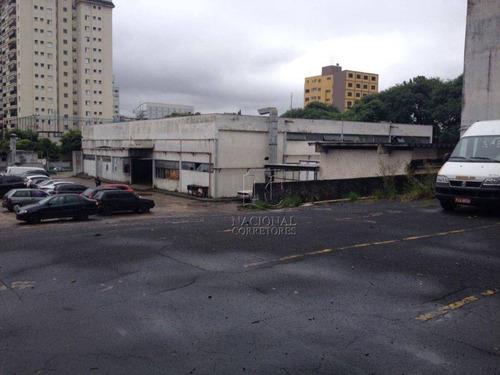 Galpão Para Alugar, 3753 M² Por R$ 44.000,00/mês - Rudge Ramos - São Bernardo Do Campo/sp - Ga0510