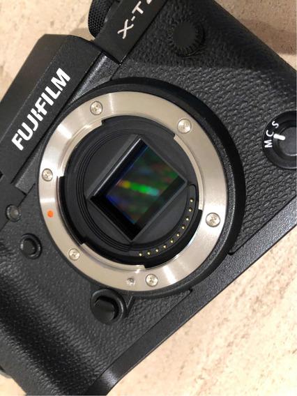 Câmera Xt2 Fujifilm Impecável + Grip Couro