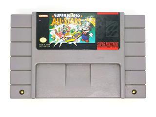 Super Mario All Stars Super Nintendo Snes Original Videojuegos Rock