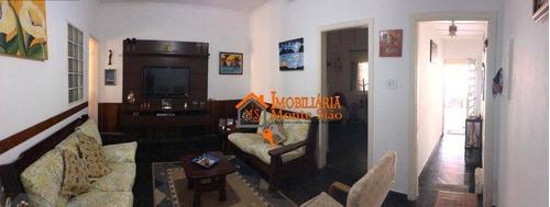 Casa À Venda, 169 M² Por R$ 550.000,00 - Vila Rosália - Guarulhos/sp - Ca0374